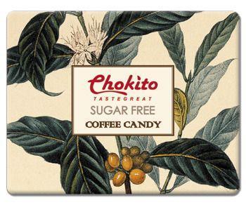 Chokito西班牙無糖超濃咖啡糖