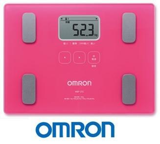 OMRON 歐姆龍體脂計 HBF-212(桃紅色)
