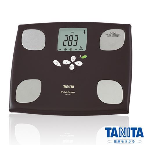 TANITA體脂計BC750(黑色)-十合一女性減重模式體組成計
