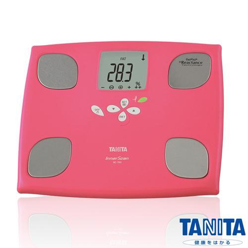 TANITA體脂計BC750(紅色)-十合一女性減重模式體組成計