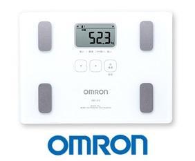 OMRON 歐姆龍體重體脂計HBF-212-白色